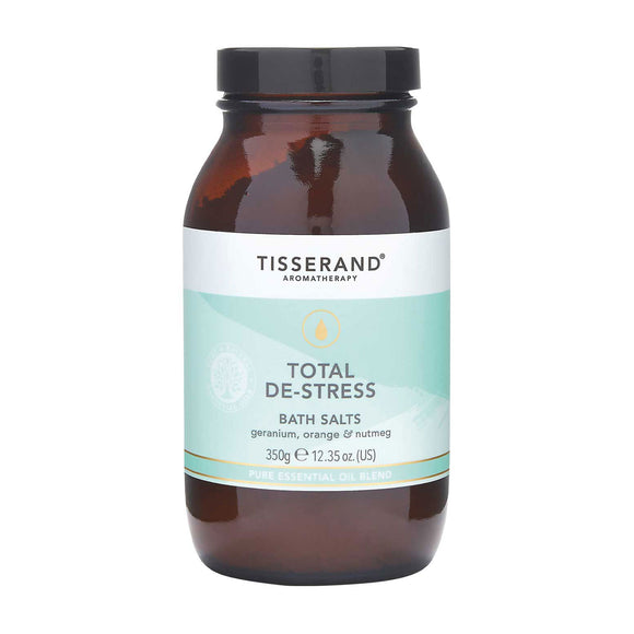 Tisserand Total De-Stress Bath Salts 350g