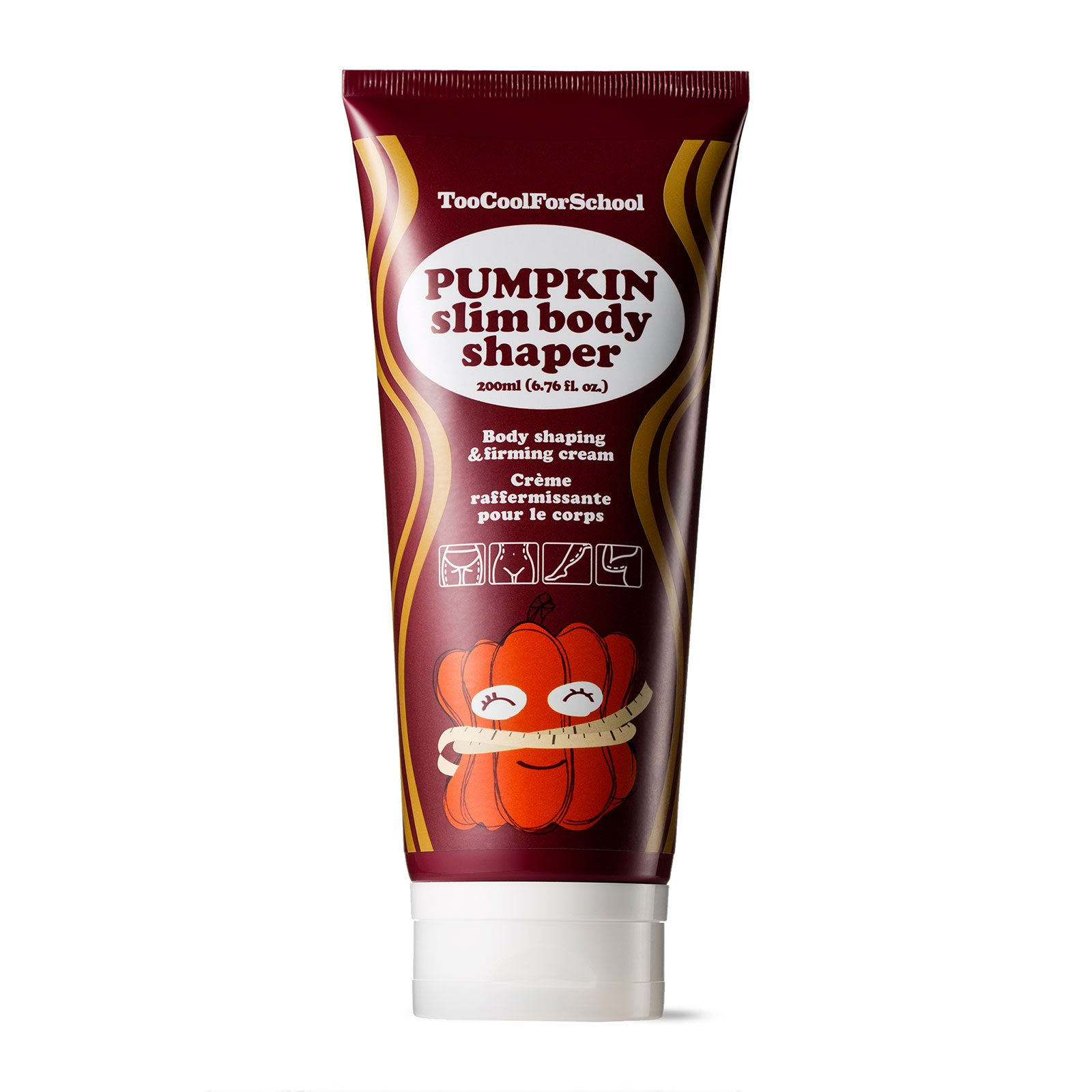 Too Cool For School Pumpkin Slim Body Shaper Set 200ml