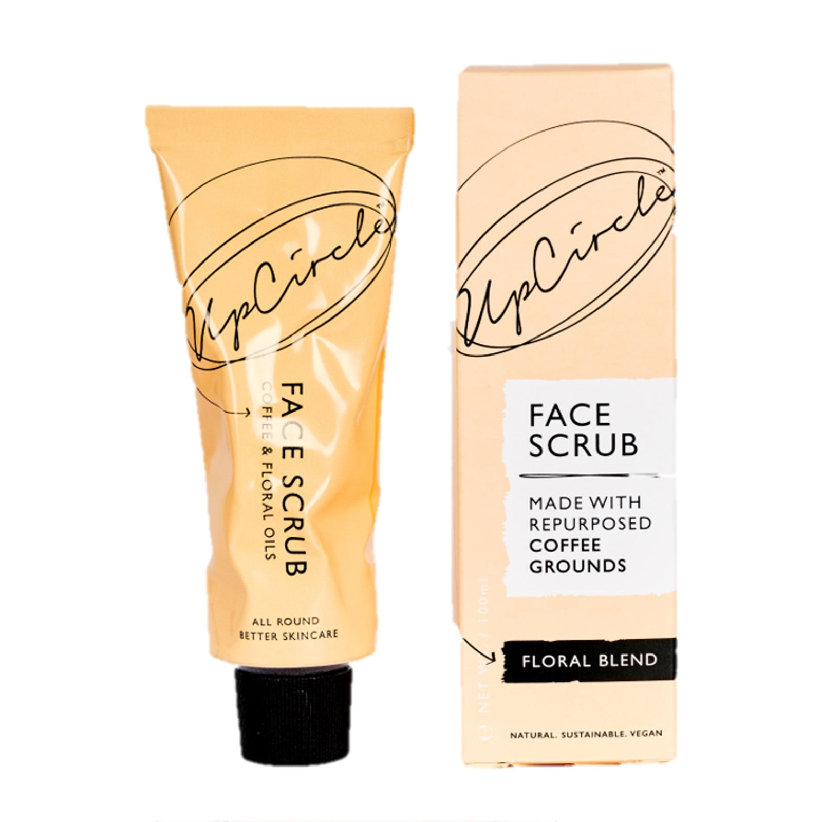 UpCircle Coffee Face Scrub Floral Blend 100ml
