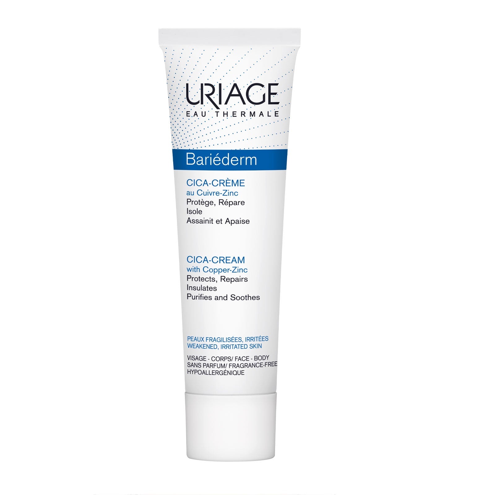 Uriage Bariéderm Cica-Cream with Copper-Zinc 100ml