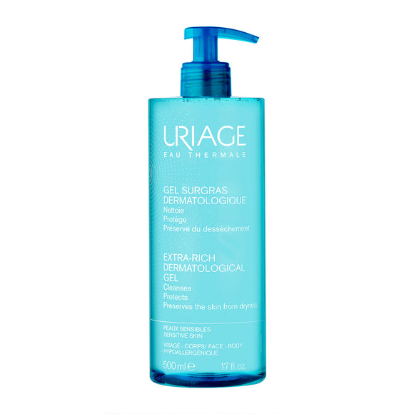 Uriage Extra Rich Dermo Foaming Cleansing Gel 500ml