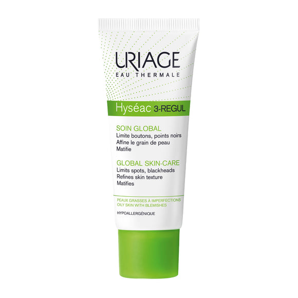 Uriage Hyséac 3-Régul Global Skin Care Moisturiser 40ml
