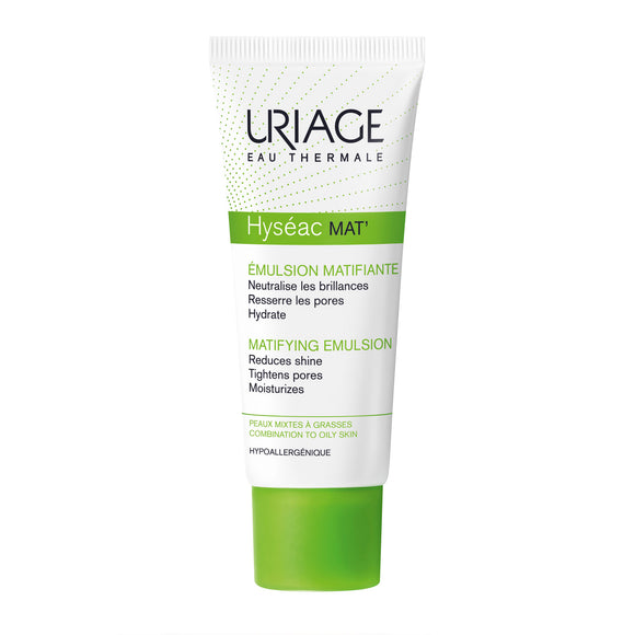 Uriage Hyséac Mat' Mattifying Emulsion 40ml