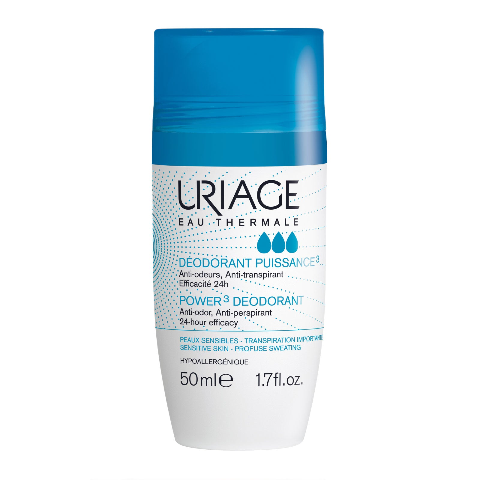 Uriage Power 3 Deodorant Roll On 50ml