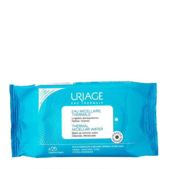 Uriage Thermal Micellar Water Wipes x 25