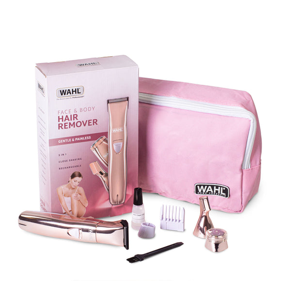 WAHL Female Face and Body Hair Trimmer Kit