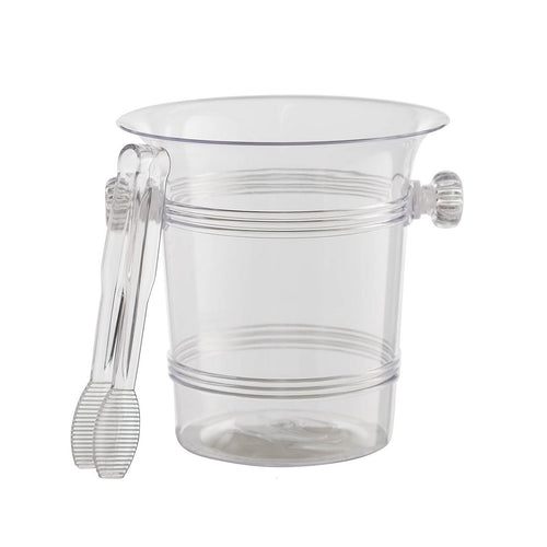 Clear Acrylic Ice Bucket with tongue
