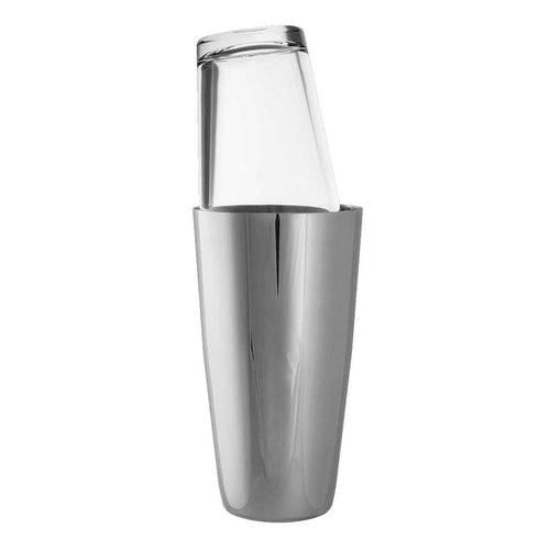 Stainless shaker with Boston Glass