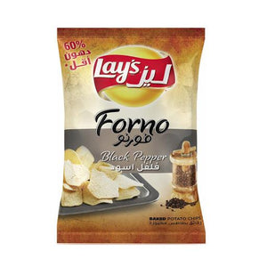 Lays Forno Black Pepper Baked Potato Chips - Autobar