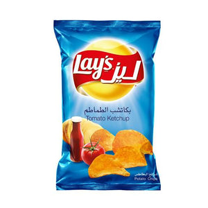 Lays Ketchup Potato Chips - Autobar