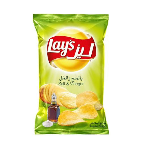 Lays Salt & Vinegar Potato Chips - Autobar
