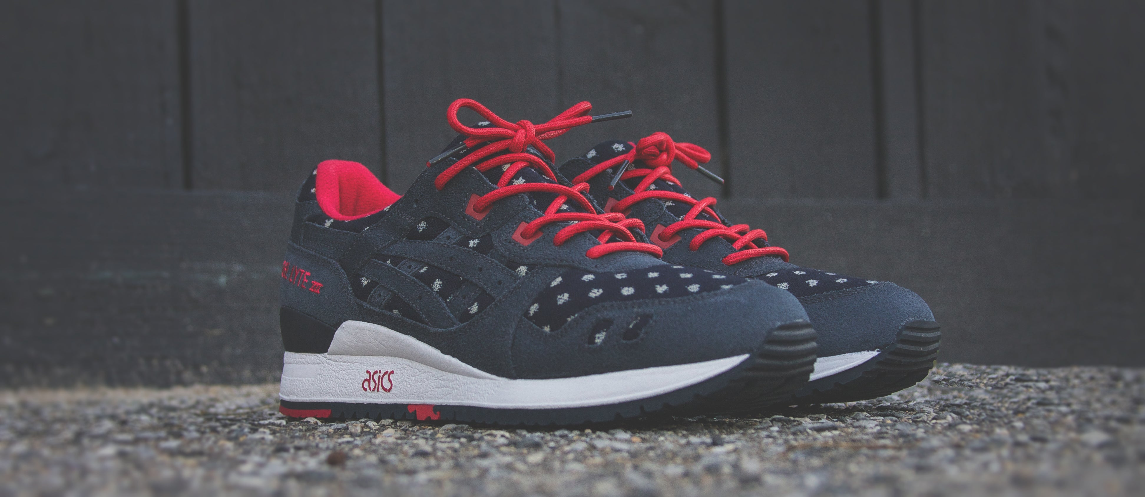 """... the final installment of the collaborative """"Basics Program"""" between  ASICS and California s own BAIT once again uses the Gel Lyte III  silhouette 1acef0ccf4"""