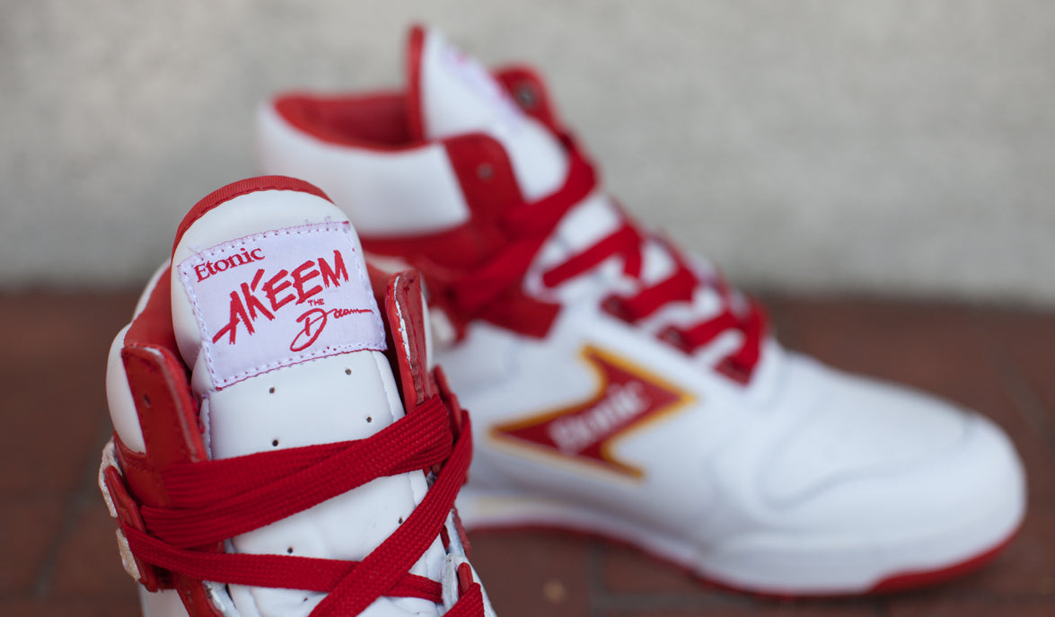 Etonic Akeem The Dream OG. Color  White Red Yellow. Style Code  EML14F-01.  Price   120USD b5b73ca4e677