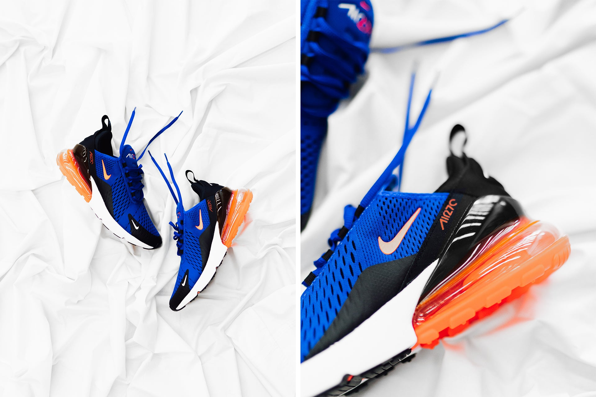 finest selection a70f4 5ee9b good nike air max 270 racer bluehyper crimson black 70bc8 c671e