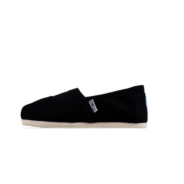 Toms Womens Canvas Black Classic Shoes