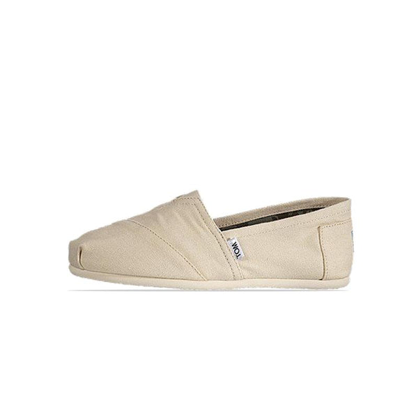 Toms Womens Canvas Light Beige Classic Shoes