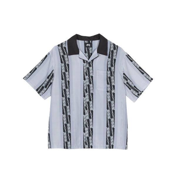 Stussy Mens Deco Striped Shirt