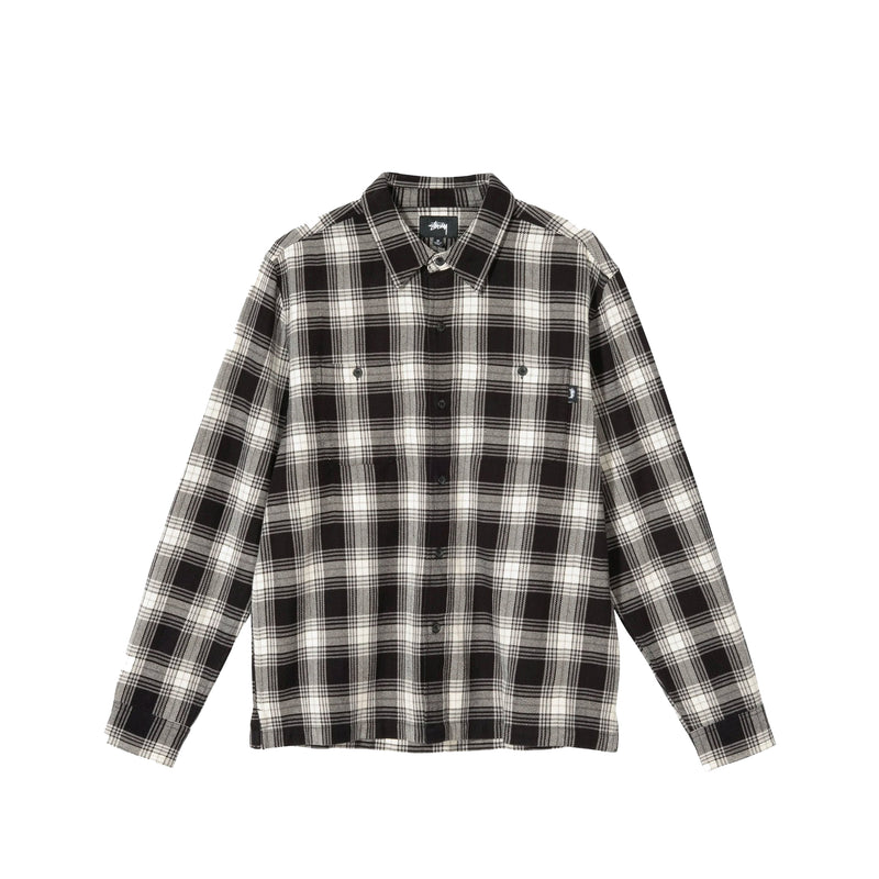 Stussy Mens Beach Plaid Shirt