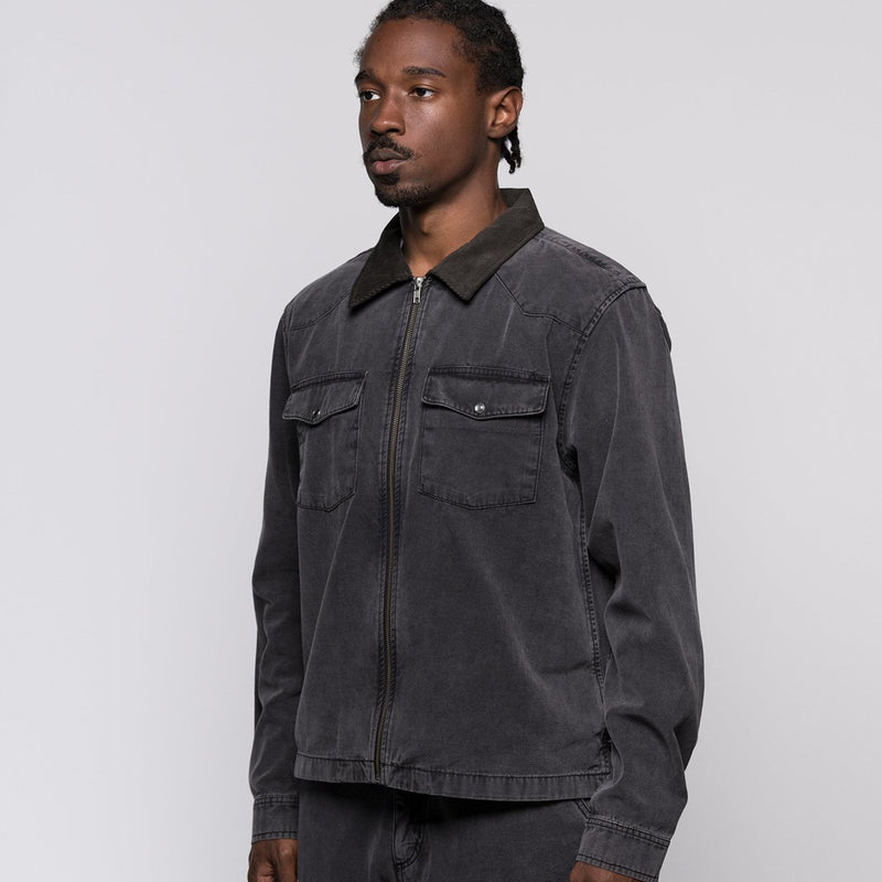 Stussy Mens Washed Canvas Work Shirt