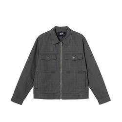 Stussy Mens Check Garage Jacket