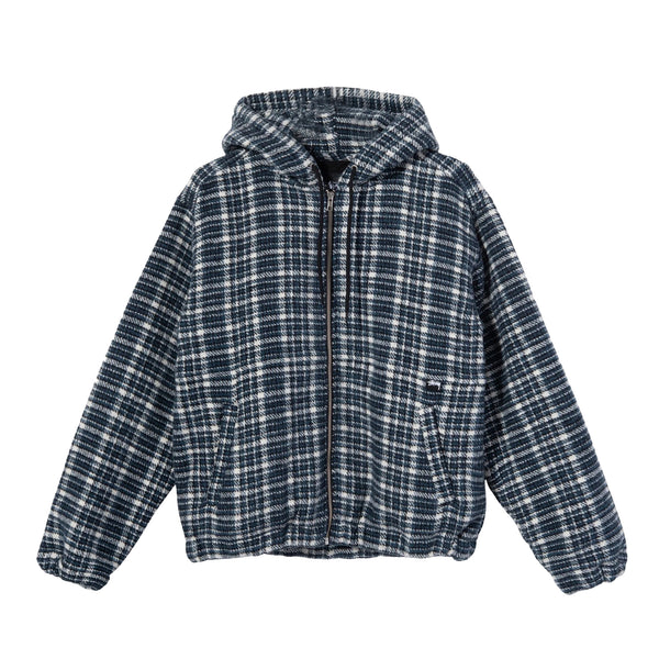 Stussy Womens Flannel Work Jacket