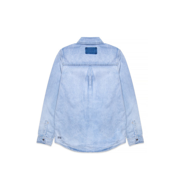 Ksubi Mens Shockwave Denim Shirt