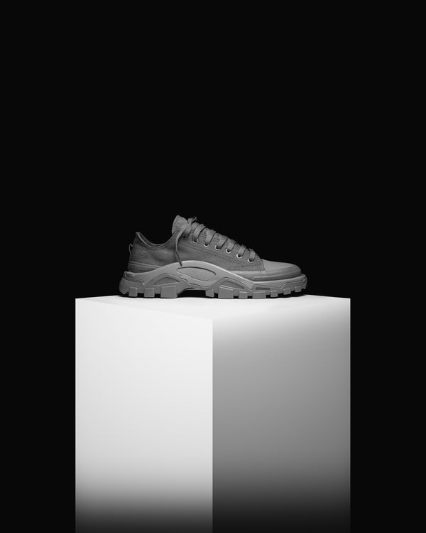 "Adidas x Raf Simons Detroit Runner ""Grey"" Shoes"