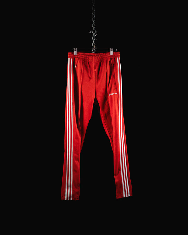 Adidas Open Hem Red Track Pant (BR2213)