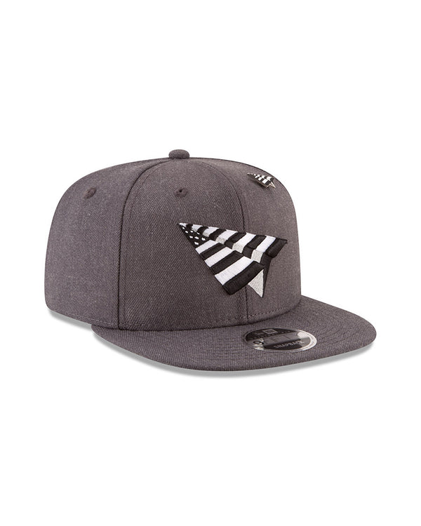 Paper Planes x New Era Old School Snapback Hat (0017H710-CHARC)