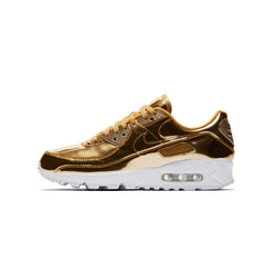 Nike Womens Air Max 90 SP Gold Metallic Pack Shoes
