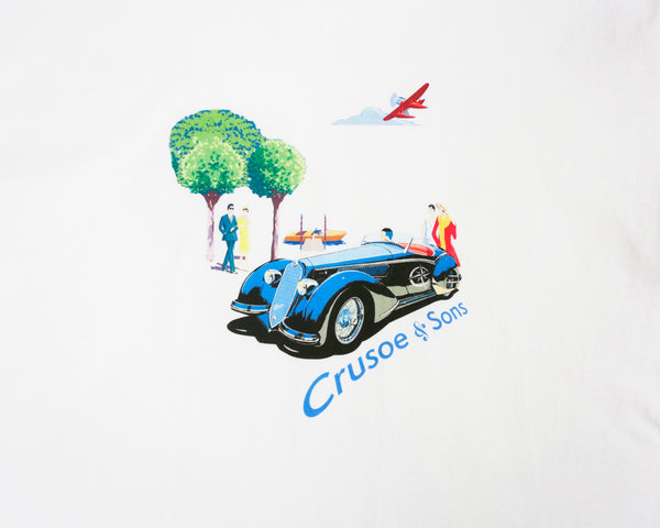 Crusoe & Sons Mens Fitzgerald Tee