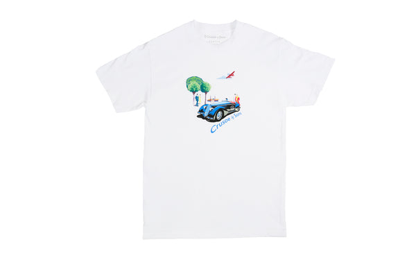Crusoe & Sons Fitzgerald T-Shirt (CS-SU19-05-WHT)