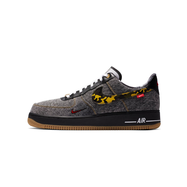 Nike Mens Air Force 1 '07 LV8 1 'Remix Black' Shoes