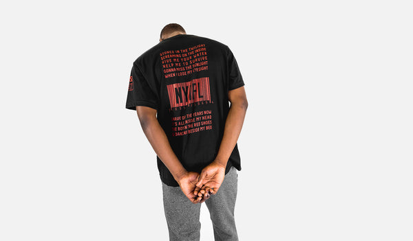 "RISE ""new york is for lovers"" tee (black) (RISE_NYIFL-TEE)"