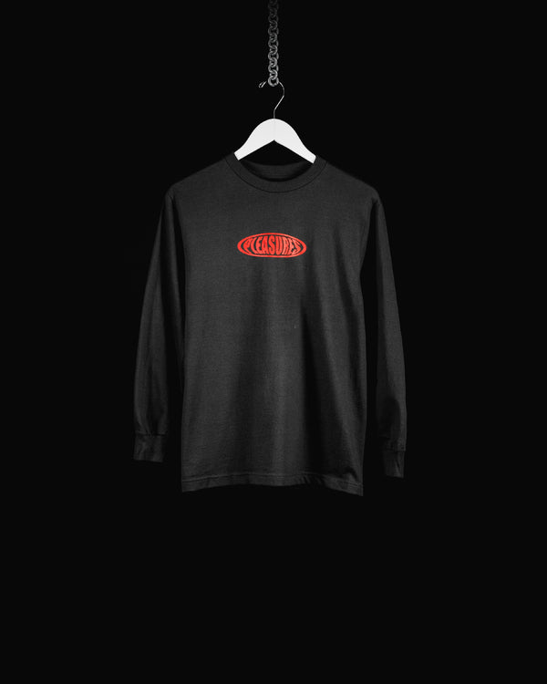 Men's PLEASURES Bubble L/S Tee (P17W101043)