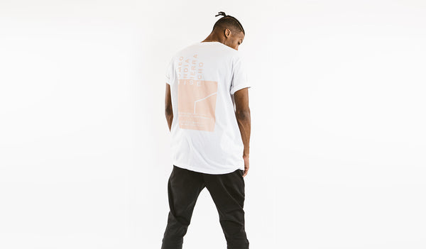 "RISE ""light rays"" oversized tee (RISE_MIRAGE_TEE)"
