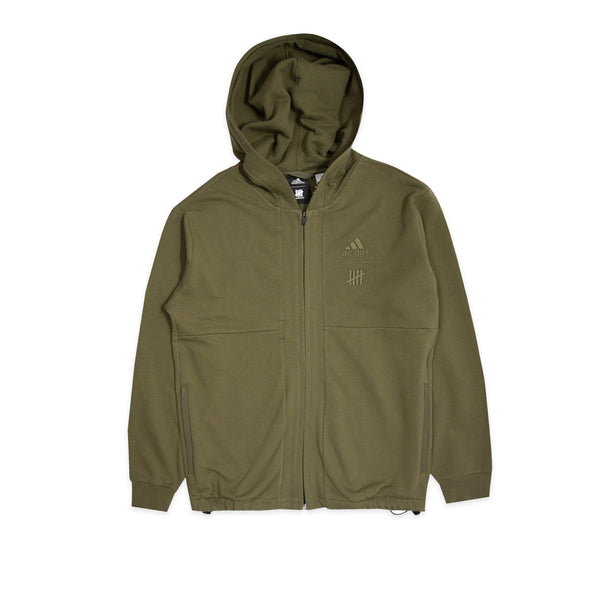 Adidas x UNDEFEATED Mens Full Zip Hoodie