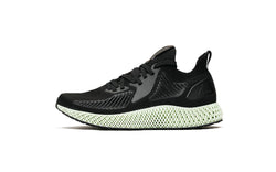 Adidas Mens Alphaedge 4D Shoes