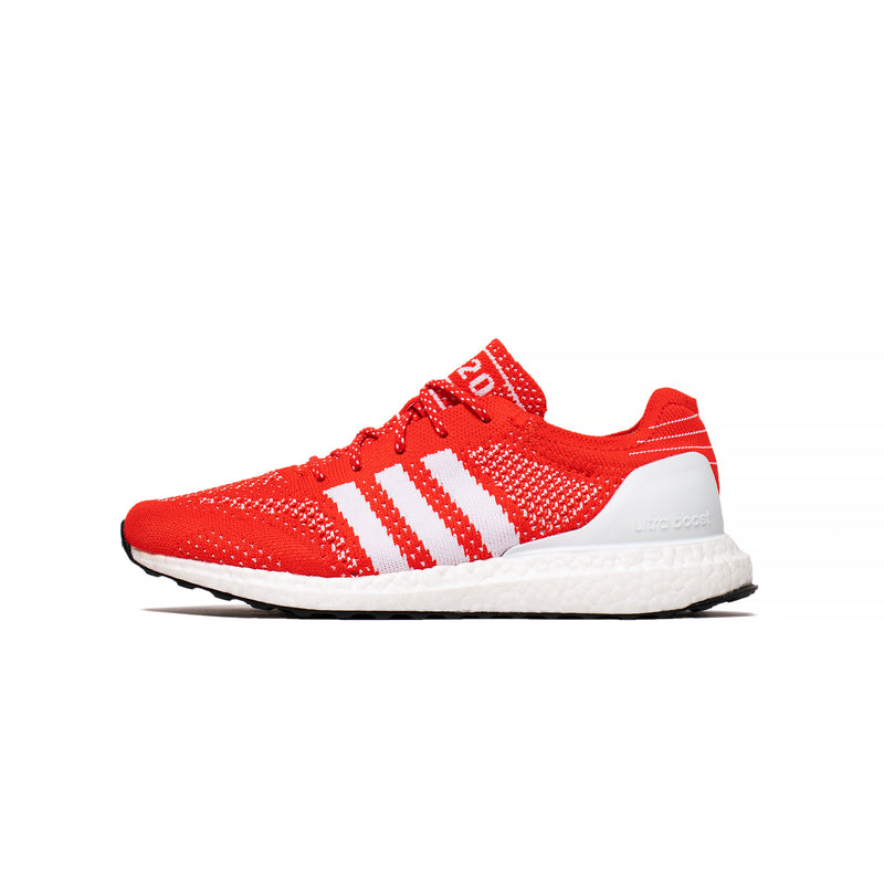 Adidas Mens Ultraboost DNA Prime 'Red' Shoes