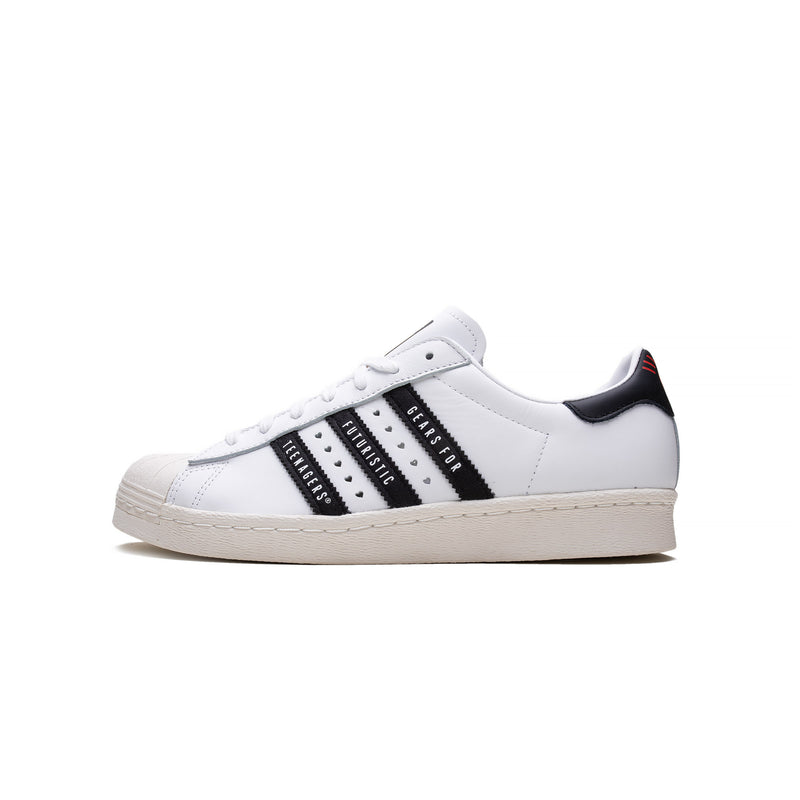 Adidas x Human Made Mens Superstar 80s Shoes