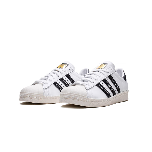 Adidas x Human Made Mens Superstar 80s Shoes FY0728