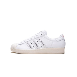 Adidas x Human Made Mens Superstar 80s Shoes FY0730