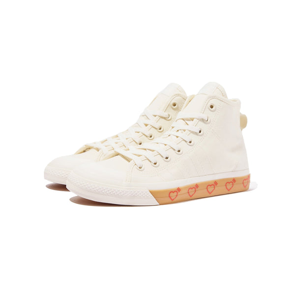 Adidas Mens Nizza Hi x Human Made Shoes