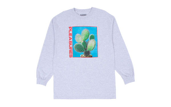 PLEASURES SPIKE LONG SLEEVE T-SHIRT (P19F101055)