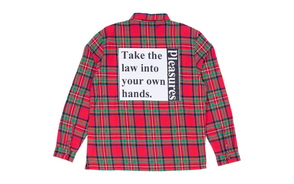 PLEASURES LAWLESS OVERSHIRT (P19F109010)