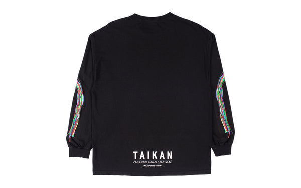 PLEASURES TAIKAN LONG SLEEVE T-SHIRT (L19F101001)