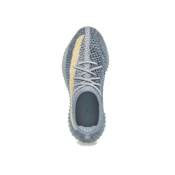 Adidas Mens Yeezy 350 V2 'Ash Blue' Shoes