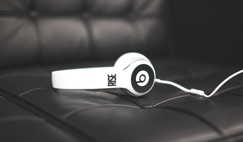 "RISE x beats ""KOD"" solo2 headphones"