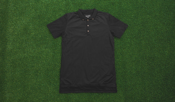 Zanerobe Disphaute Polo (Black Mesh)