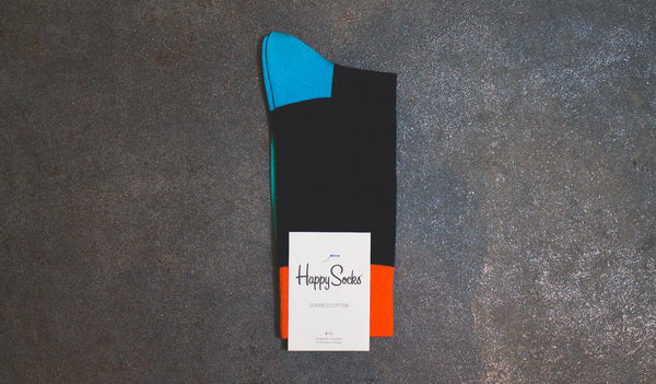Happy Socks Five Color Navy (FI01-089-080)